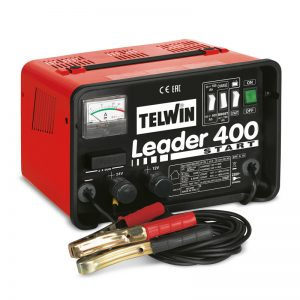 Batteriladdare och starter Leader 400 Start