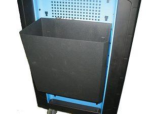 Avfallsbehållare f/verktygsvagn