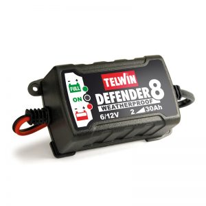 Batteriladdare Defender 8